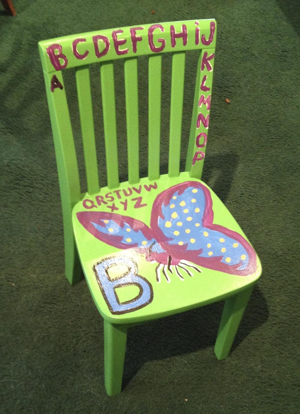 Chair # 61 Griscom-Sullivan