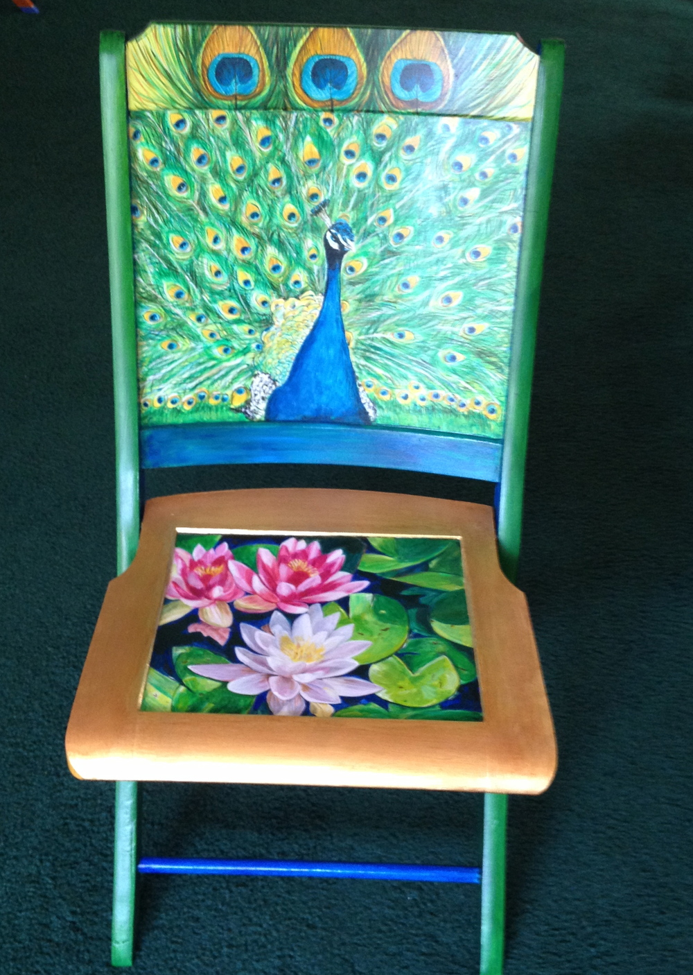 Chair # 12 Mary Ann Girard
