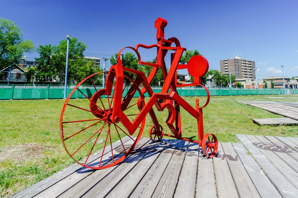 Tricycle Sculptures