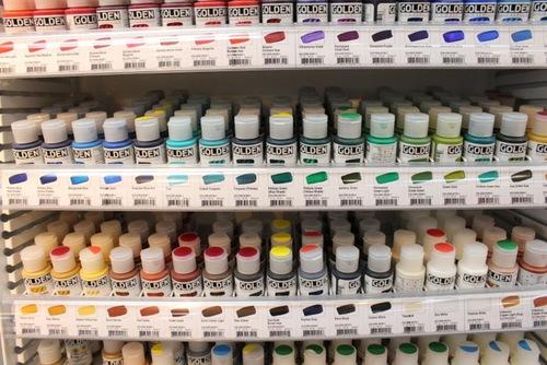 golden acrylics color mixing chart: Acrylic paints artspot