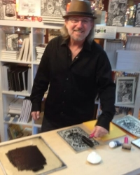 Chris Minor  Gallery Artist & Instructor: Linocuts