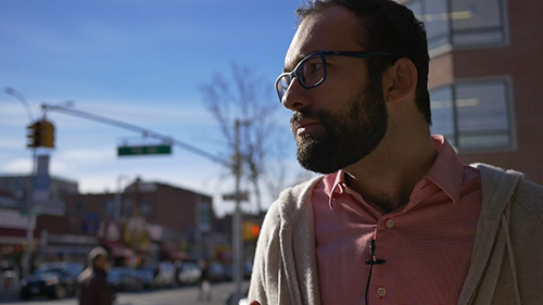 Michael, a Russian immigrant and pharmacy owner, considers how life for him and his family would be different with a basic income.