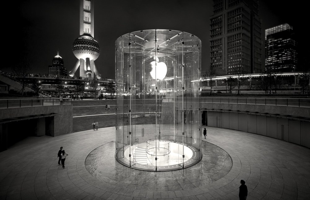 Apple Store in Pudong (Shanghai)