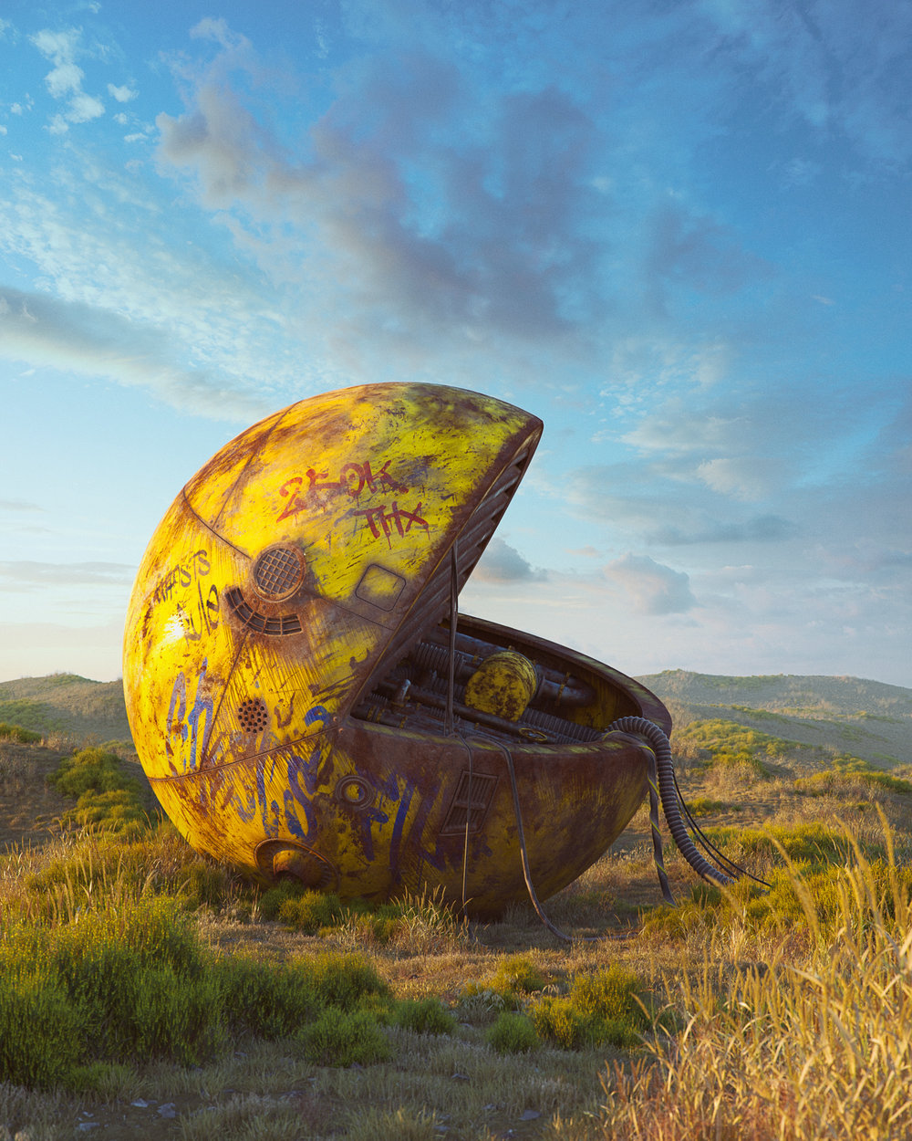 Pop culture dystopia - Filip Hodas