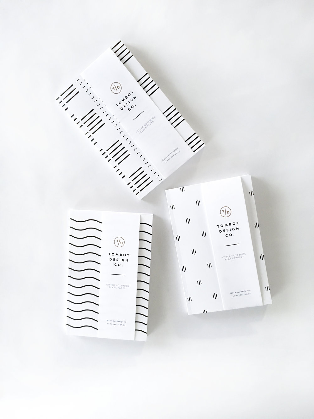 Jotting Notebook Bundle of 3 $45