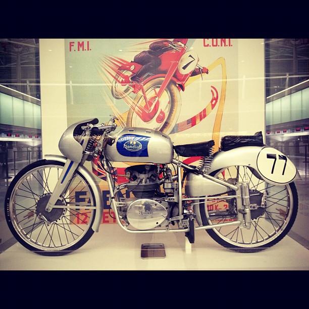 125cc Bialbero Grand Prix 1951. Milan, Italy.