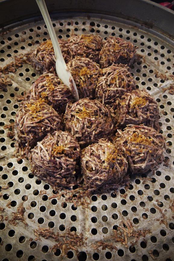 Taro Root Balls
