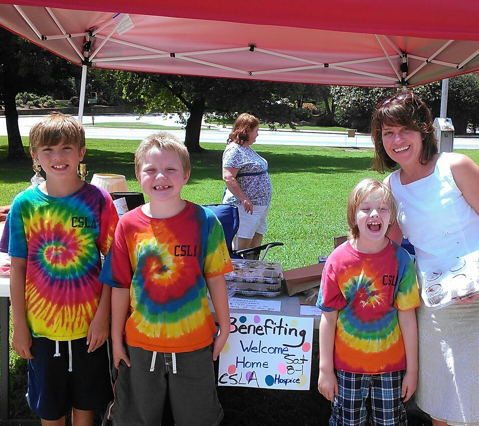 Our very first fundraisers, Trey White and Friends.