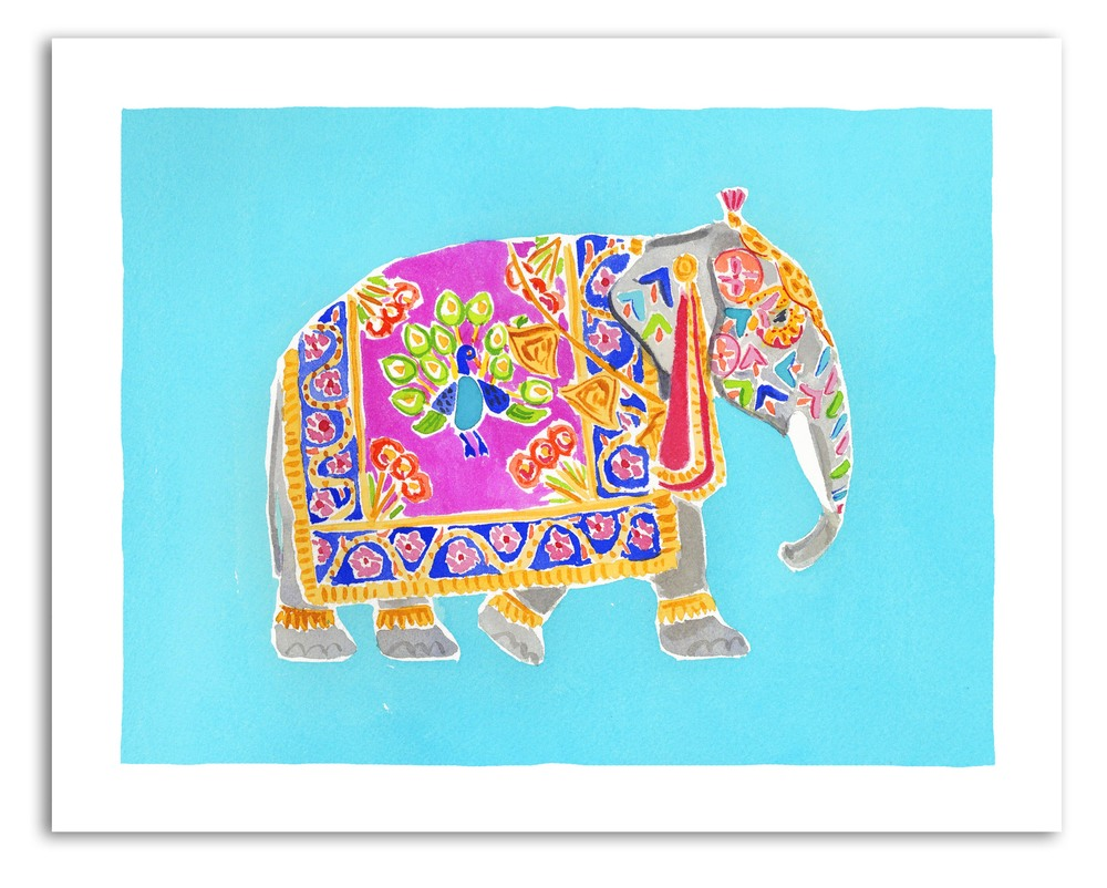 caitlin mcgauley elephant print the market studio four nyc