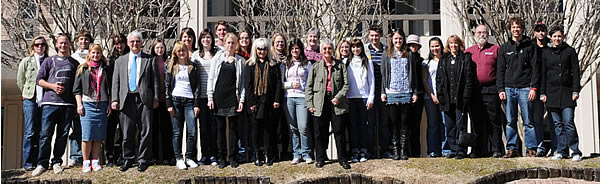 The 2010 Austrian Student Program at UNO. Photo: W. Palli.