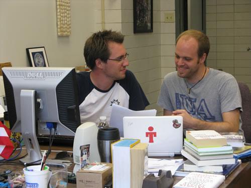 Kastner (left), Troebinger