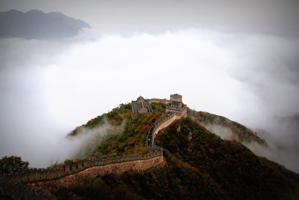 Aerial view of the Great Wall of China. Manuel Joseph/ Pexels