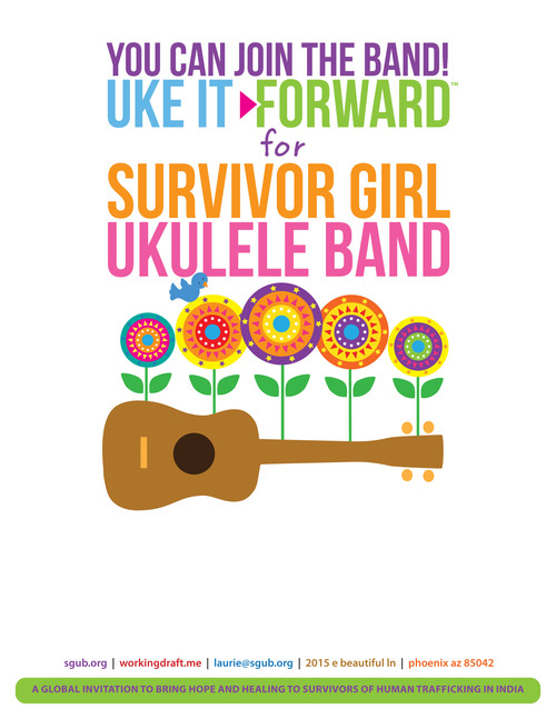 Uke it forward survivor girl ukulele band sgub uke it forward flier us letter whiteg thecheapjerseys Gallery
