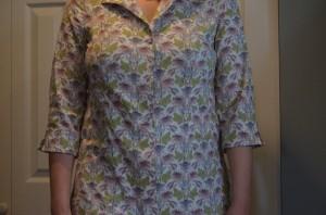 Mamie's shirt on Moi
