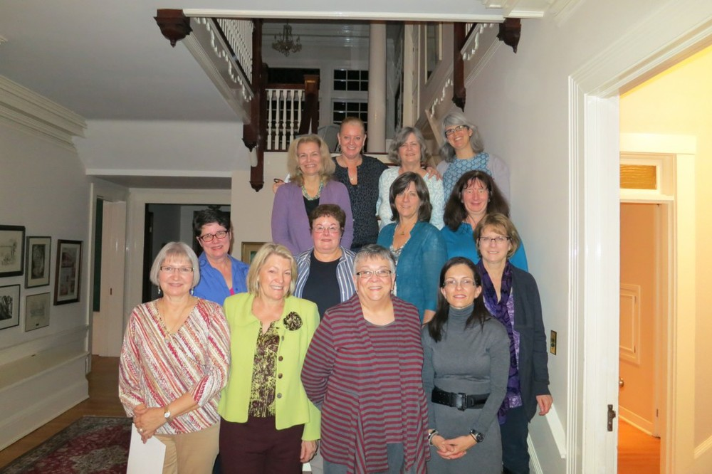 The Fit Class Graduation at Pati Palmer's lovely home