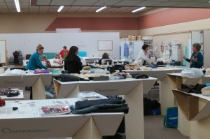 The Pants Class hard at work. Pati Palmer Photo