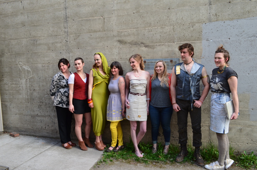 All the designers and their models.
