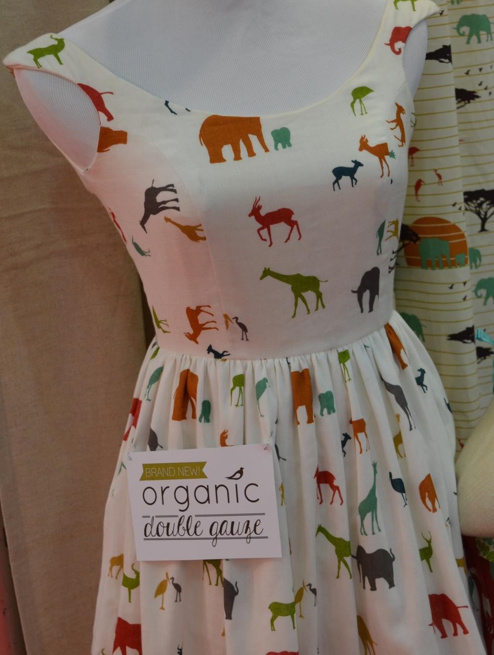 Birch Fabrics double gauze dress.