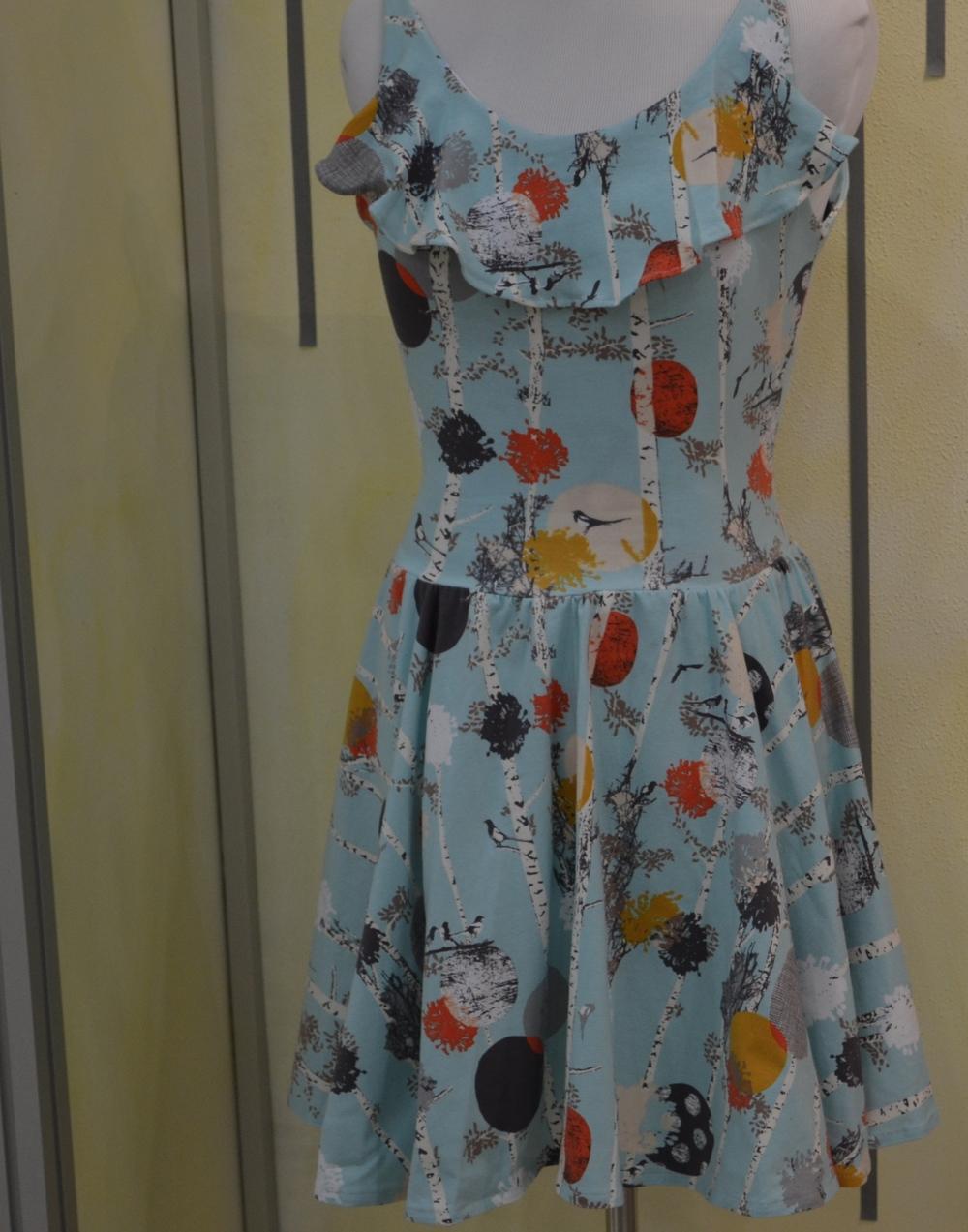 Art Gallery knit dress.
