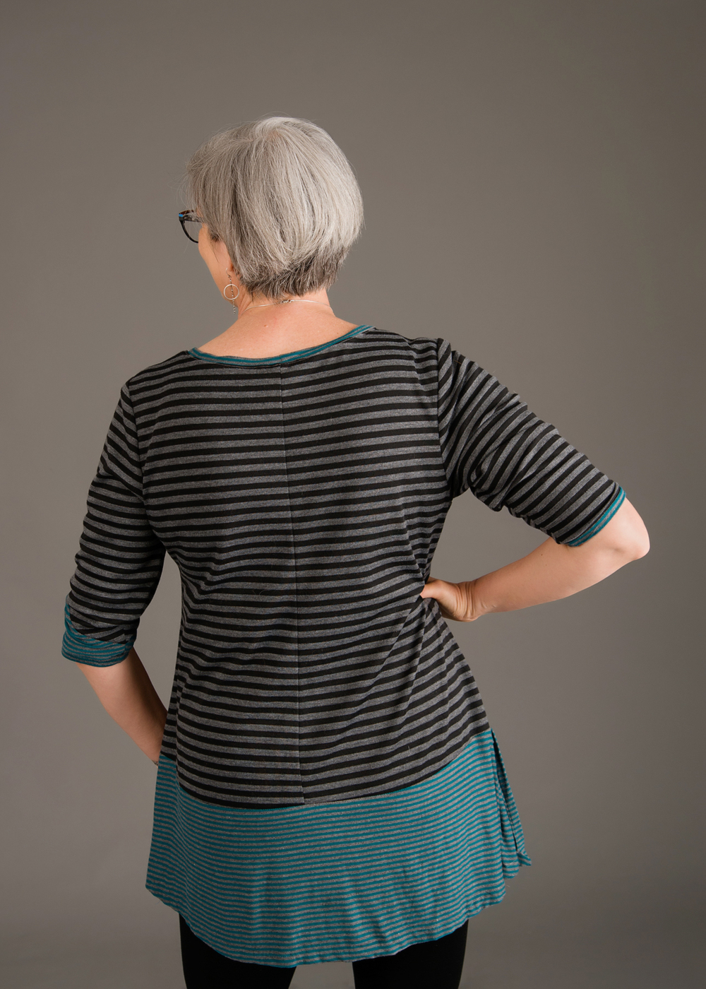 Back of Ivy Tunic. Photo by Andrea Jones.