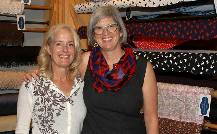 My friend Katherine came from Helena. We have been friends for 25 years! Photo by Sahra Susman.