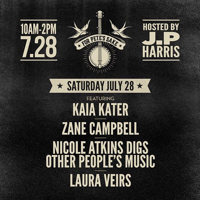 "Whooo hoooo!!! Next week @newportfolkfest here we come!! @nicoleatkins ""digs other people's music"" we gonna get to sing some of our new tunes from #twtDUO !!!! Can't wait!!"