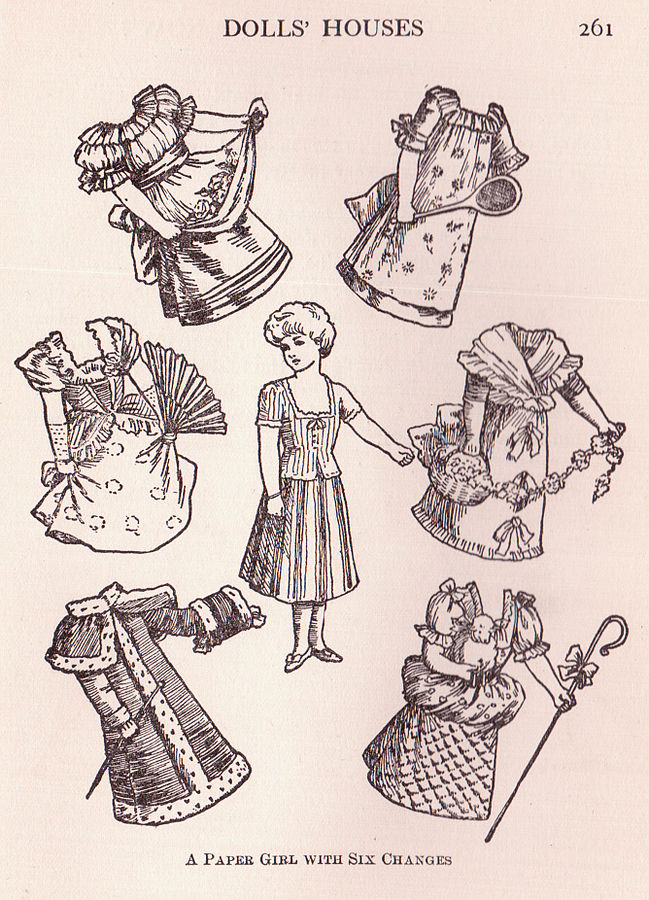 A Paper Girl with Six Changes, by Sue Clark - Flickr: Paper Girl with Six Changes. Licensed under Public domain via Wikimedia Commons.