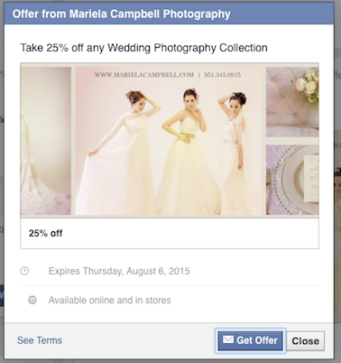 25% off any Wedding Photography Collection