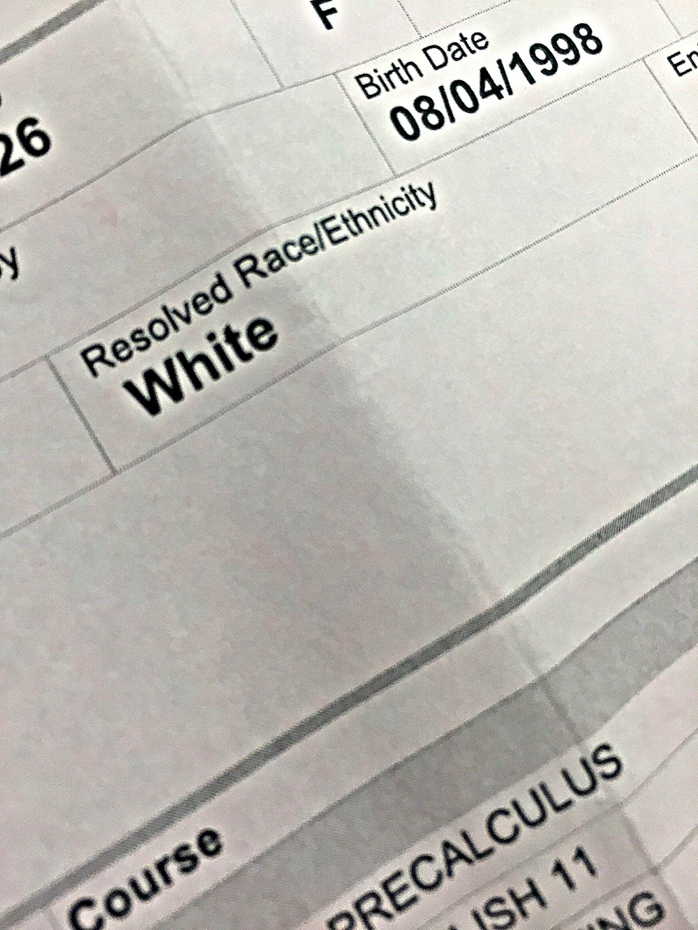 The Race Question on Applications