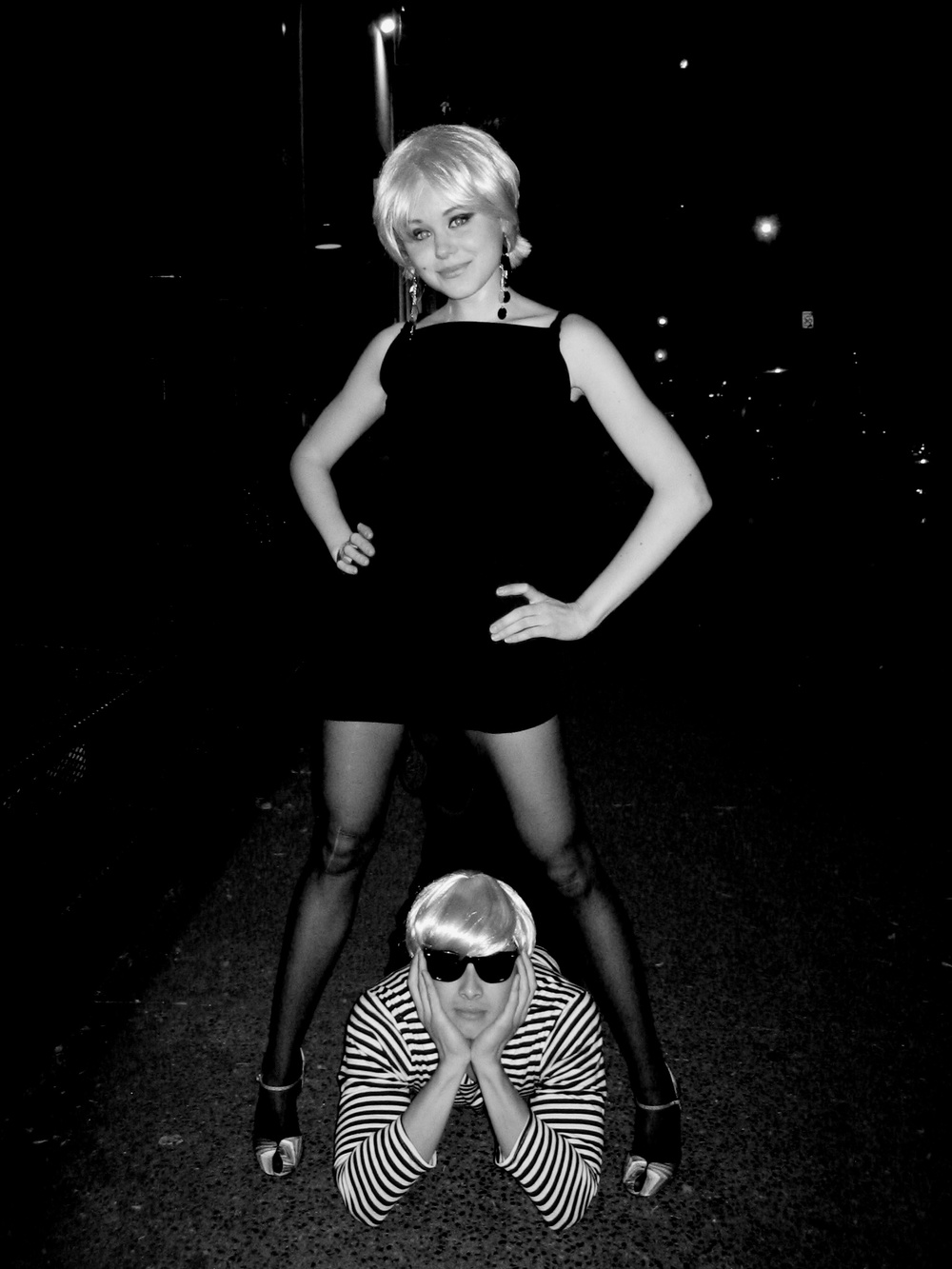 Alison Pill & Ivan Shaw / Edie Sedgwick & Andy Warhol ©2006 Christian Campbell