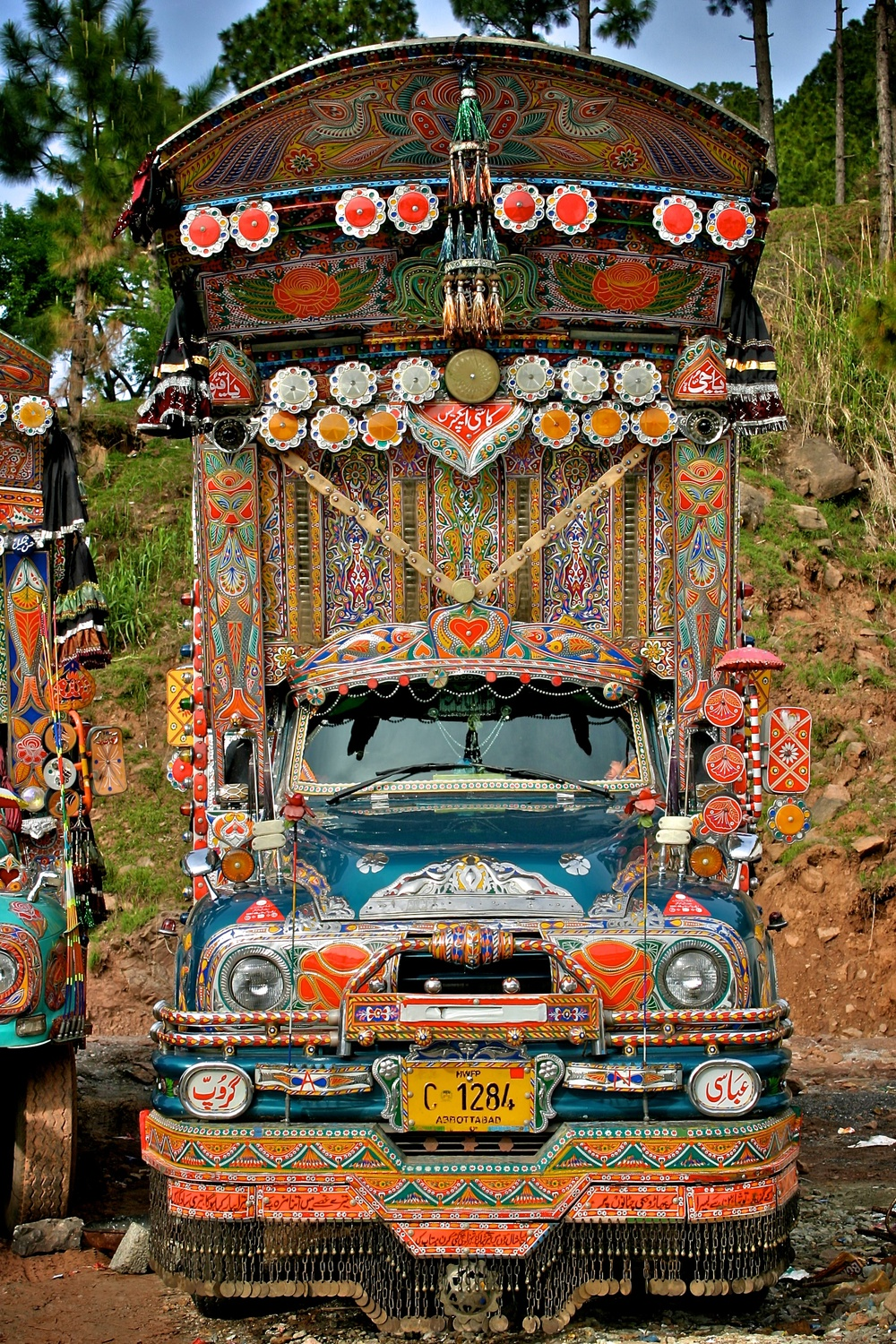 Jingle Truck Northern Pakistan