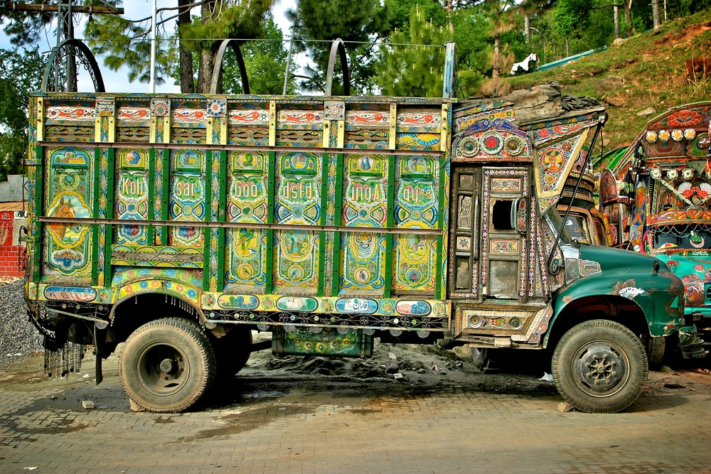 Jingle Truck Nathia Gali Pakistan