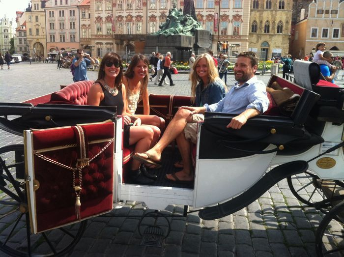 Prague really is rather lovely. We enjoyed our carriage ride.