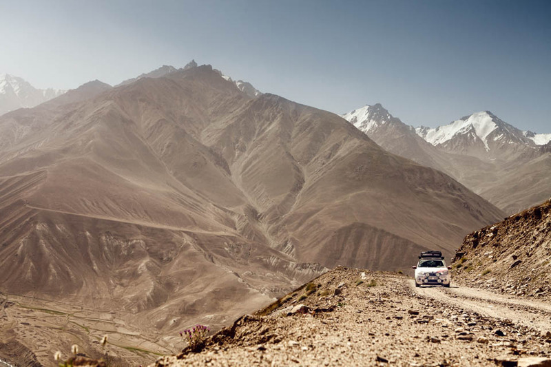 The second highest road in the world - by Skoda