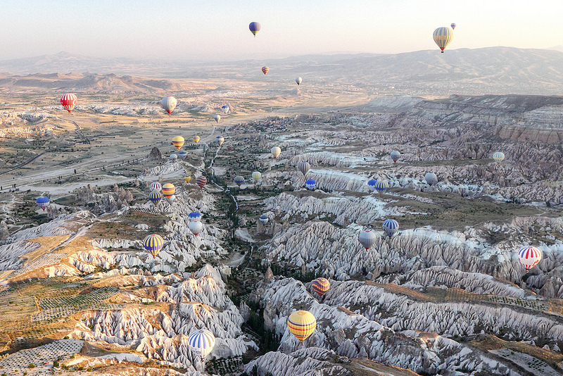 Balloon flight in turkey