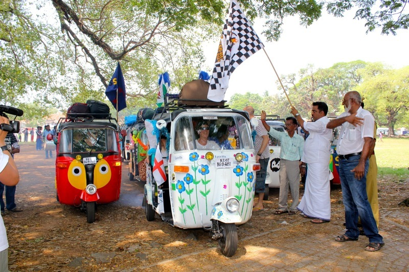 Rickshaw Run April 2012 - Launch