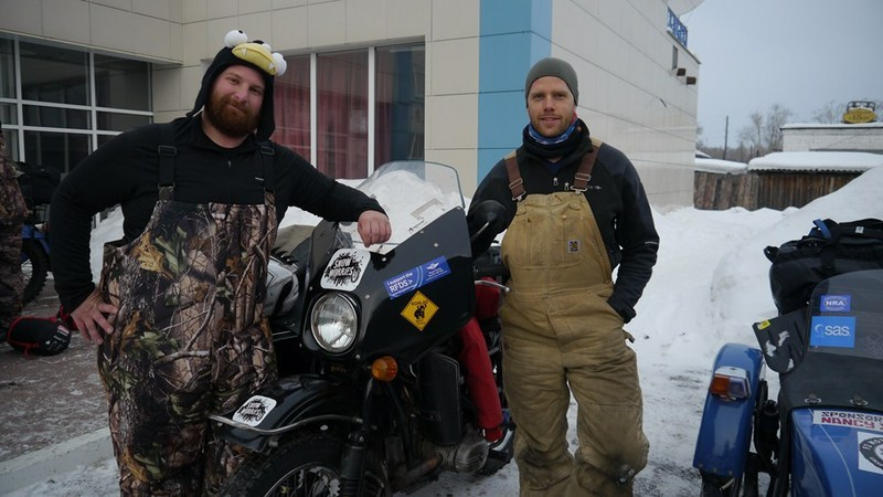Adrian Elsner and Mark Dowsett team Snow Worries