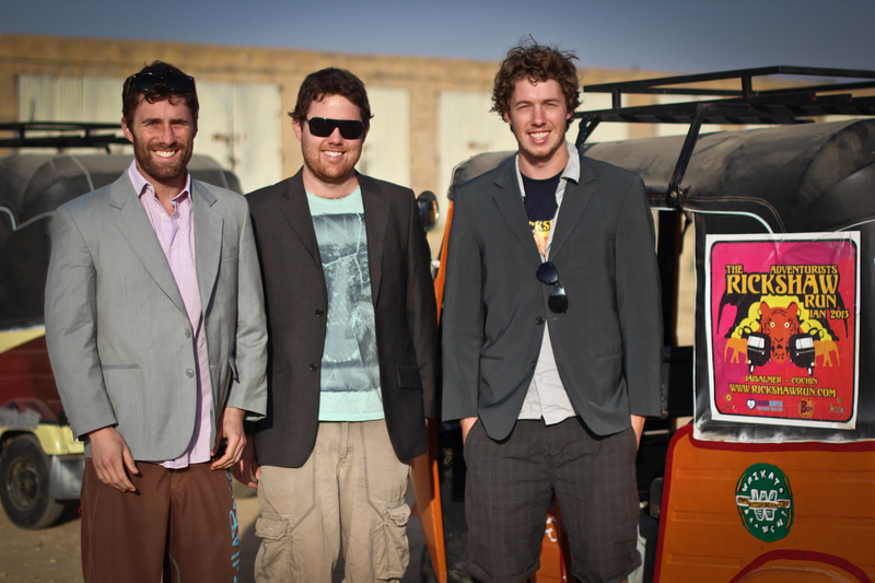 Tuk Wits, unsurprisingly are three brothers from Australia