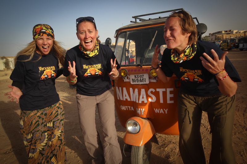 "Team Rickshaw Run Diaries have their ""holy shit"" moment in Jaisalmer."