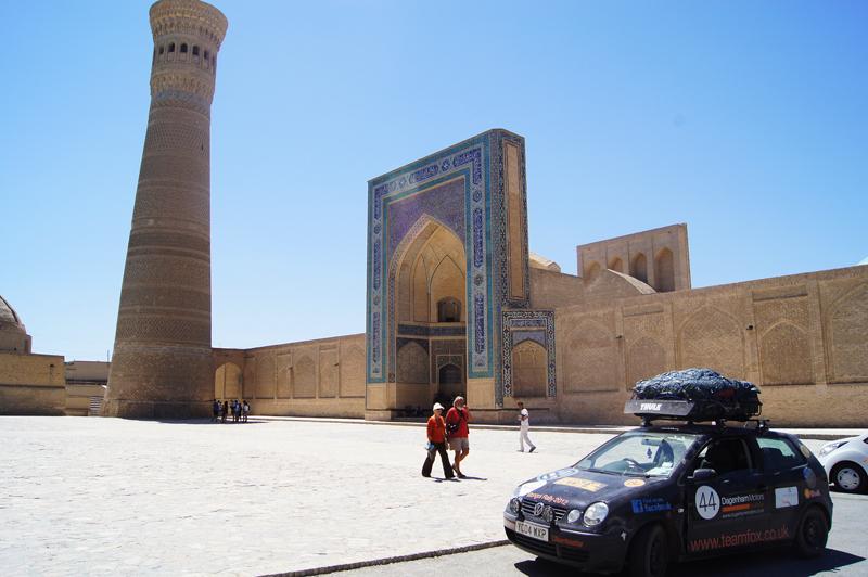 Sightseeing at the Po-i-Kalyan in Bukhara, Uzbekistan