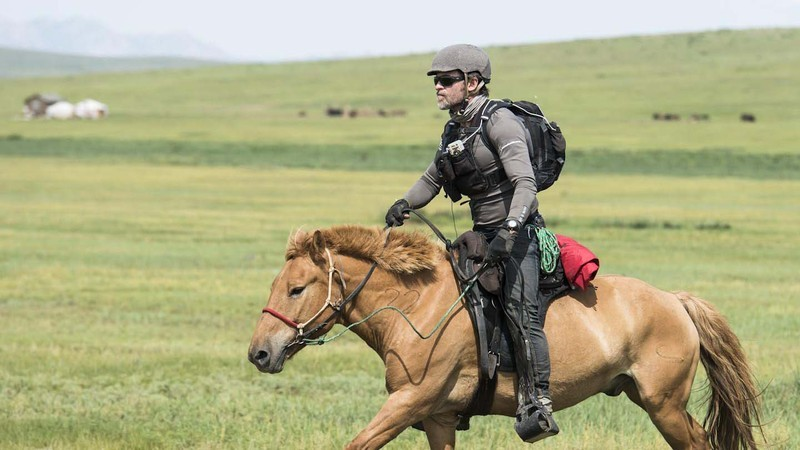 Barry Armitage on the Mongol Derby 2012