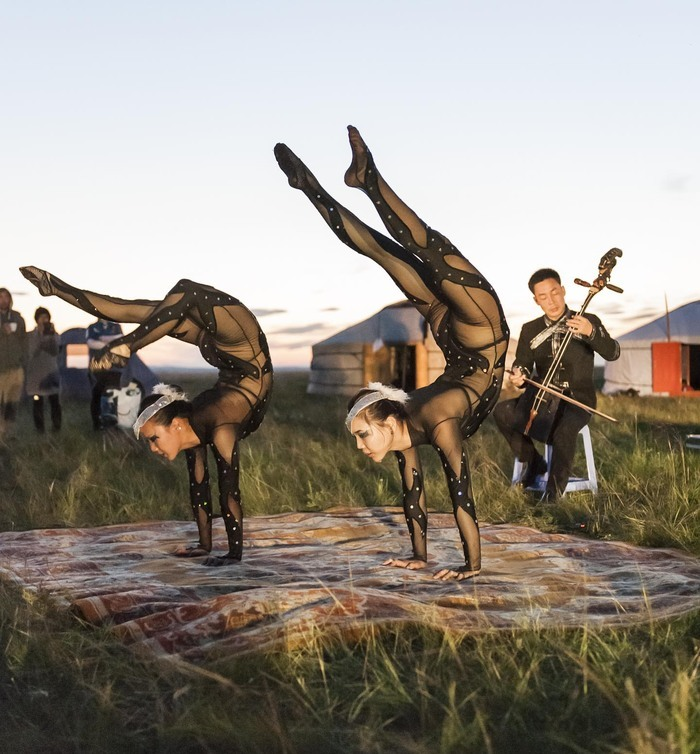 Mongolian contortionists - jaw dropping performance guaranteed every time. Mind boggling bendiness