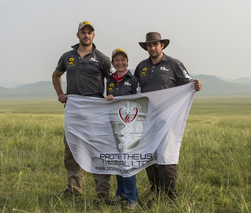 The Prometheus Medics, the Mongol Derby medical back up team