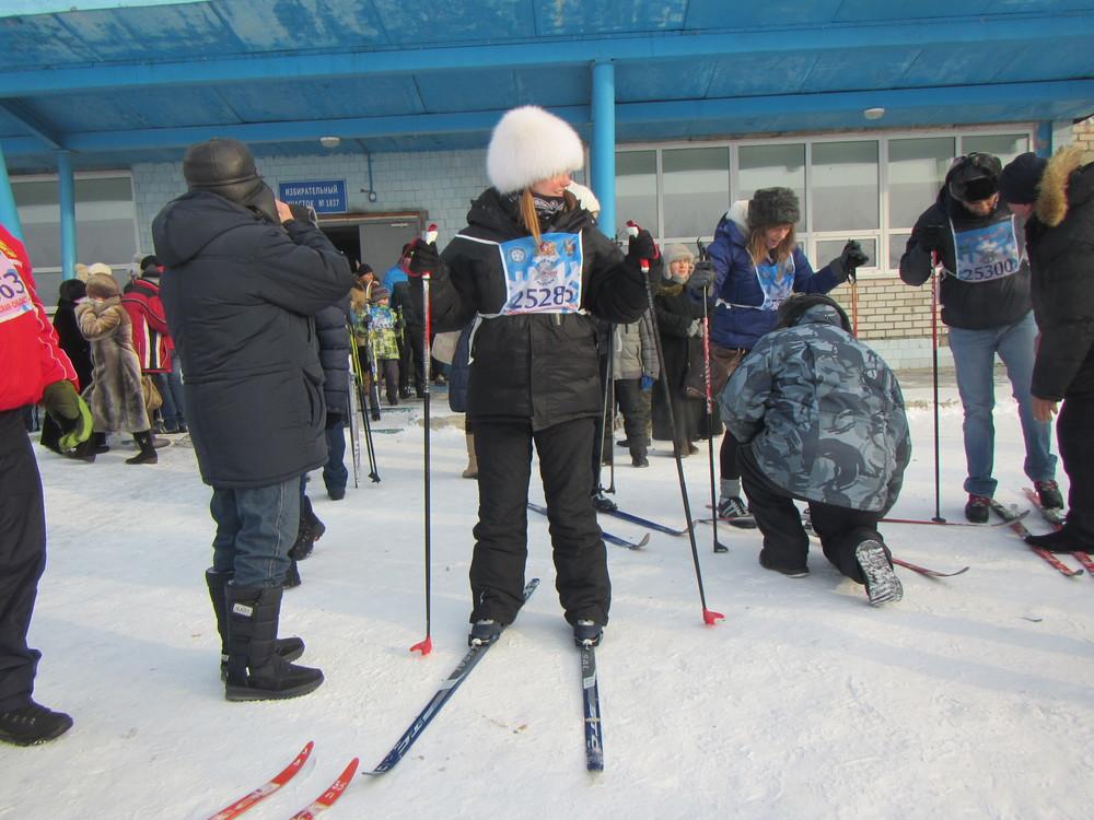 Ski contest - pre race nerves