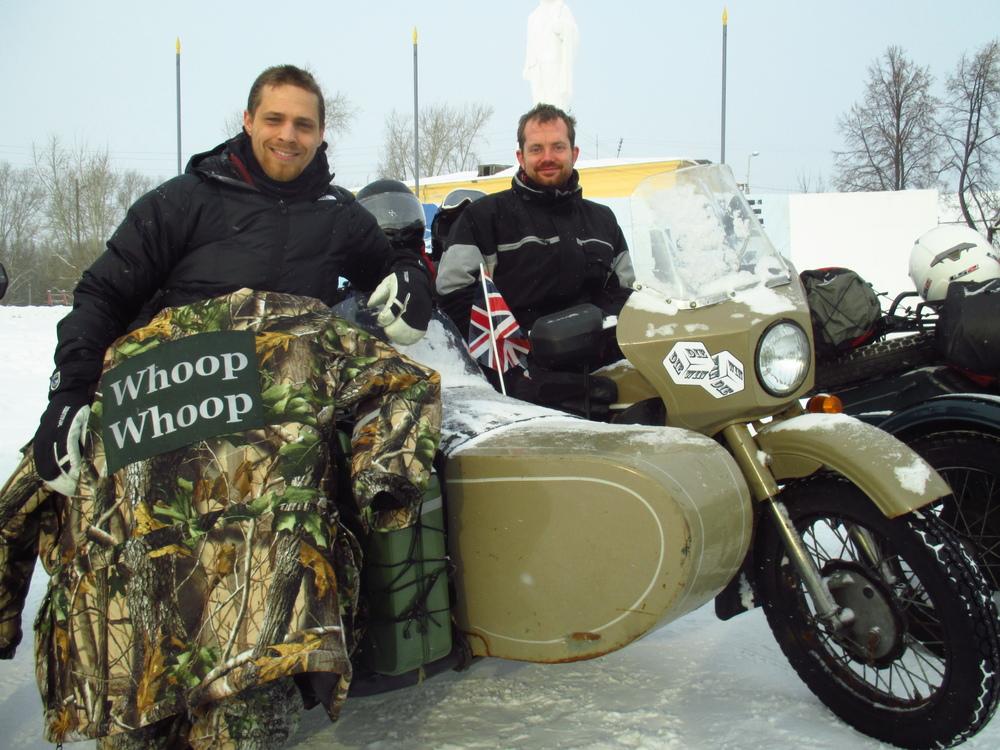 Sam Schellenberg and Moritz Suess - team Ice Ice Baby