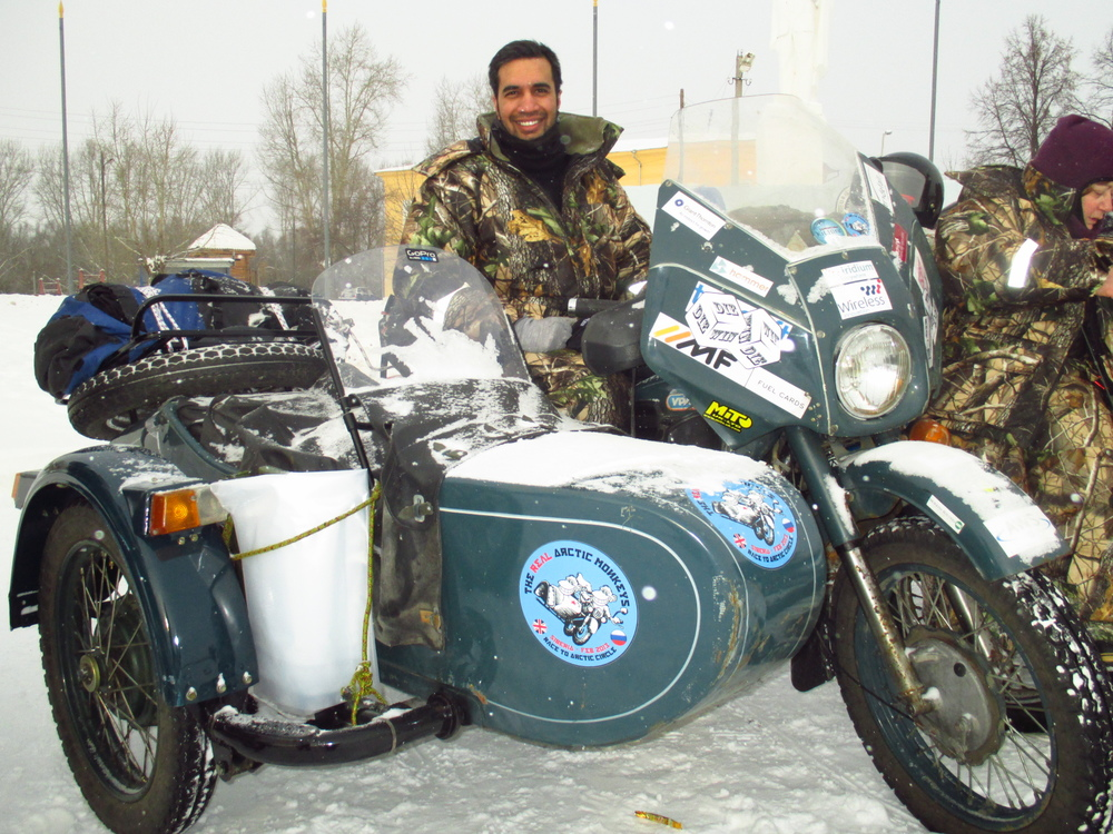 Kaan Suri - team Motorcycle Diaries