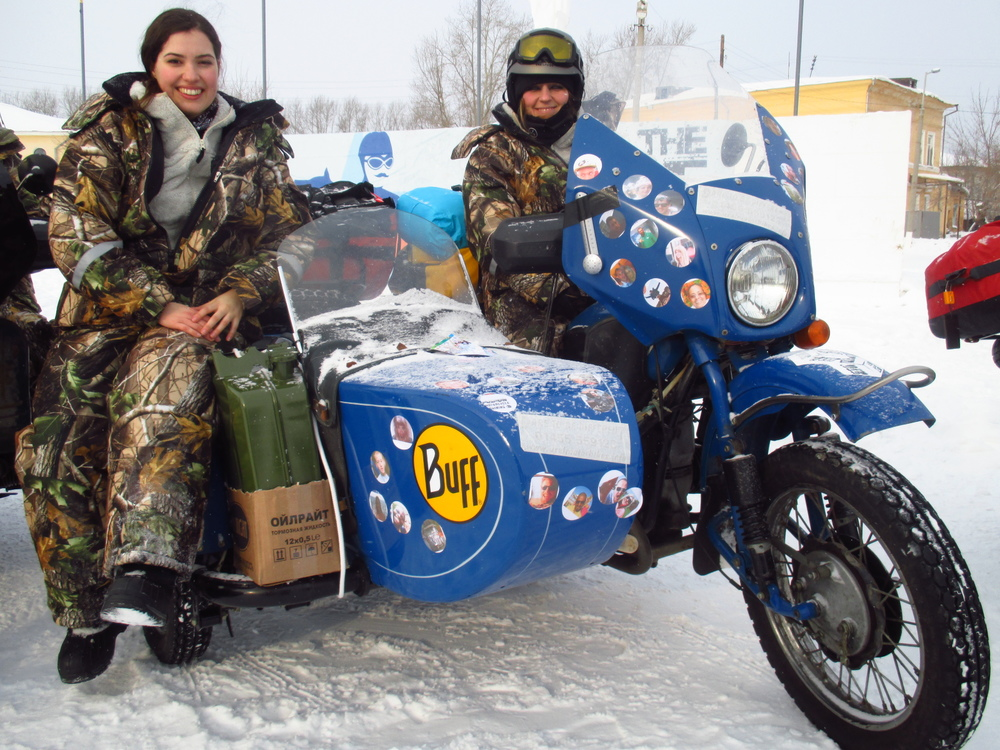 Irene Lobo and Eloisia Wild - team Wild Wolf Bikers