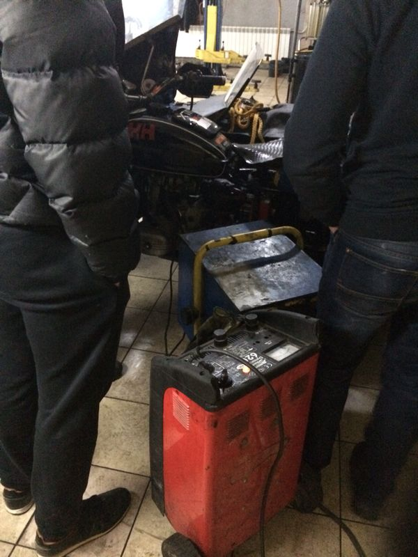 There's still a Ural in there, it's just having a REALLY rough time.  With two radiators pointed at it to get it to a comfortable temperature, they're raring to go again....almost