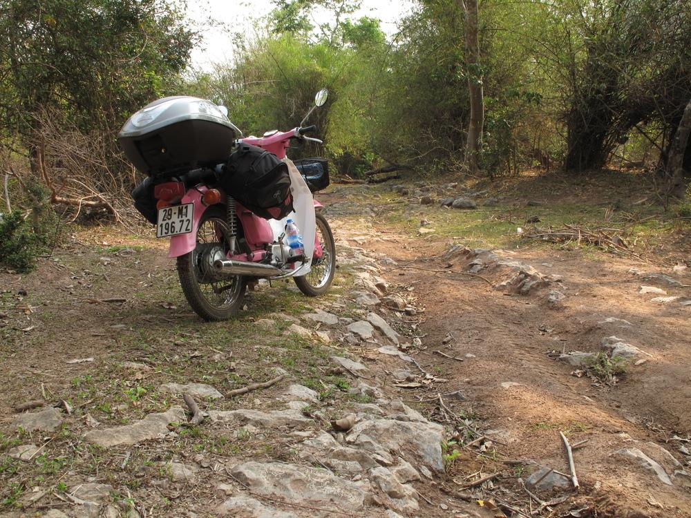 HCMT cobbles Phanop Village