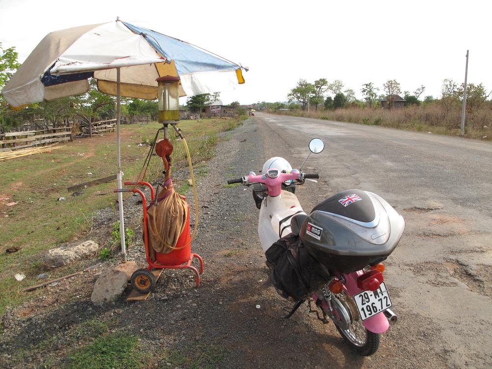 Petrol station - Cambodia